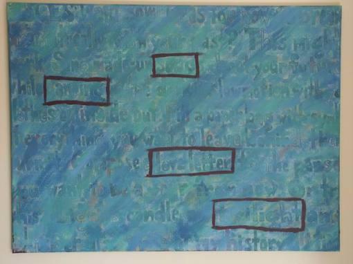 """Horoscope"" (acrylic on canvas)"