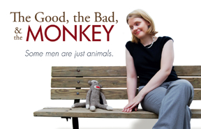 The Good, the Bad, and the Monkey ~ postcard