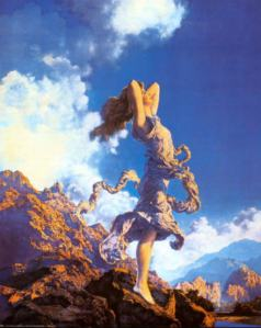"""Ecstasy"" by Maxfield Parrish"